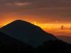 Sonnenuntergang in Casteluccio
