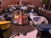 Spiegelung im Kanal