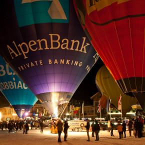 10. Ballonfestival in Toblach