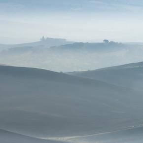Hügelige Landschaft