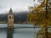 Kirchturm im Reschensee - Enie P.