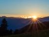 Untergehende Sonne