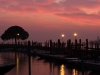 Abendrot im Hafen