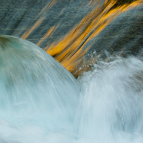 Der smaragdgrüne Fluss