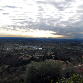 Asolo im Winter