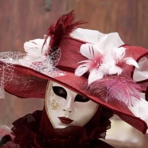 Karnevals-Kunstwerke in Venedig